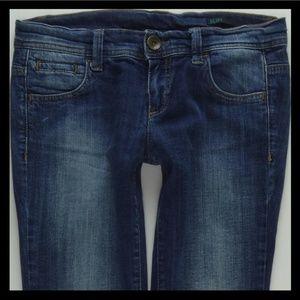 Benetton Slim Stretch Denim Jeans Women's 27 #836